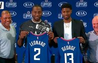 Clippers'tan Dev Hamle: Kawhi Leonard ve Paul George